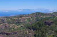 La Gomera mit Blick auf La Palma