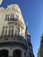 prächtige Bauten im Stadtzentrum von Santa Cruz