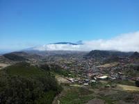 La Laguna mit Teide im Hintergrund