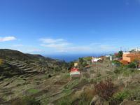 El Cercado – Terrassen und Blick zum Atlantik