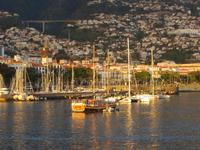 Abend an Bord - Blick auf Funchal