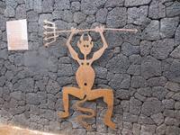 Teufelchen als Zeichen des Nationalparkes