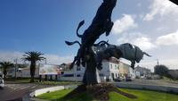 AIDAcara, Azoren, Insel Terceira, Angra do Heroismo, Stiermonument