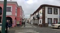 AIDAcara, Azoren, Insel Terceira, Praia da Victoria, Fussgängerstrasse
