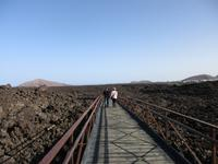 Lava- Gestein im NP Timanfaya