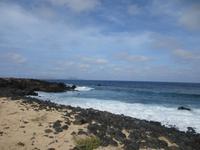 der Nordstrand von La Graciosa