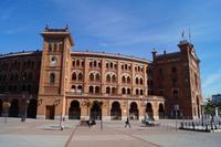 07-10-2016 Madrid, Las Ventas im Neomudejarstil