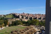 08-10-2016 Ávila, Stadtmauer