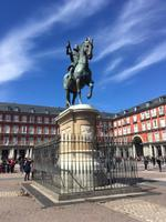 Auf dem Plaza Mayor