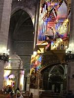 Palma - Kathedrale La Seu , Lichtspiele