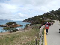 Start der Wanderung zum Talaia d' Alcudia