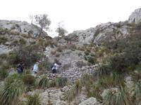 Aufstieg zur Talaia d' Alcudia