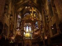 Palma de Mallorca -  im Inneren der Kathedrale