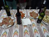 Weinverkostung in der