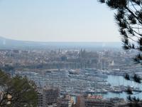 Schloß Bellvere - Blick auf Palma