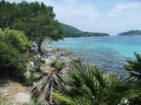 Am Strand von Formentor
