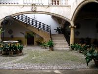 Typischer Innenhof in Palma