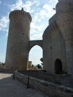Eingangsportal Schloss Bellver