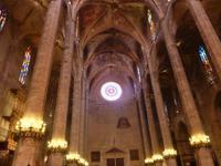 Fensterrose in der Kathedrale