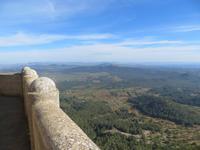 Blick vom Heiligen Berg San Salvador