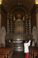 In der Wallfahrtskirche in San Salvador