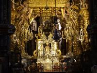Santiago de Compostela - in der Kathedrale, Hauptaltar