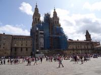 Santiago de Compostela - Praza do Obradoiro , Kathedrale