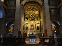 Lissabon - Igresia Sao Roque, doch im Inneren sehr prunkvoll