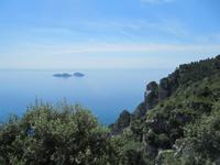 Fahrt entlang der berühmten Amalfitana ...