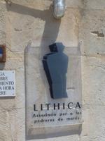 Eingang Steinbruch Lithica
