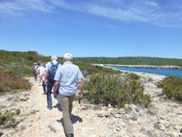 067-Bootsfahrt - Wanderung zu einen kleinen Bucht bei Punta del Pinar