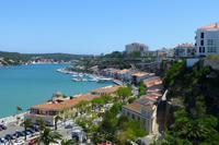 080-Mahón - Blick über den Hafen