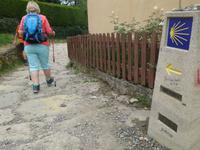 Wanderung auf dem Jakobsweg von Salceda nach Lavacolla (6)