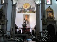 In der Kathedrale Santa Ana