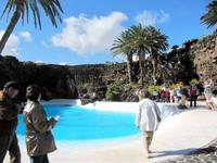 Künstlicher Pool in den Jameos del Agua