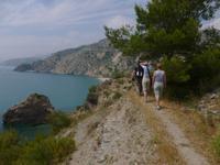 Wandern Andalusien 2013
