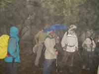 trotz Regen Spaß am Wandern