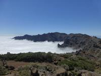 Wanderung am Kraterrand auf La Palma