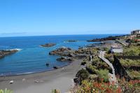 Blick auf den Strand von Los Cancajos