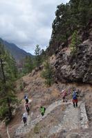 Wanderung in die Caldera de Taburiente