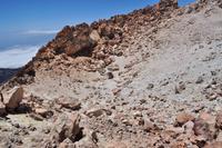 Der Gipfelkrater des Teide