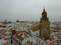 Blick auf die Dächer von Carmona
