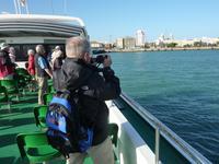 Blick auf den Hafen von Cadiz