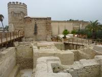 Mauern des Alcazar von Jerez