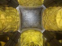 Blick zur Decke der Kathedrale