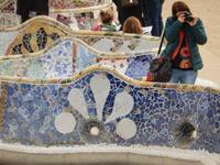 Parc Güell * Silvester Barcelona - Jahreswechsel in Spanien