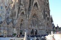 Geburtsfassade der Sagrada Família