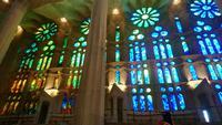 Farbspiel in der Sagrada Familia