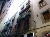 typische Gassen in der Altstadt von Barcelona