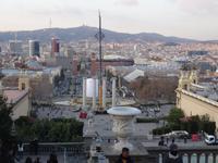 Brunnenanlagen am Platz Espana